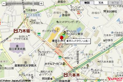 Yahoo!地図WEB APIでマーカーにラベル表示