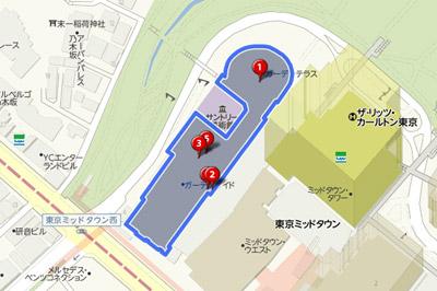 Yahoo!地図WEB API(YOLP)施設内検索